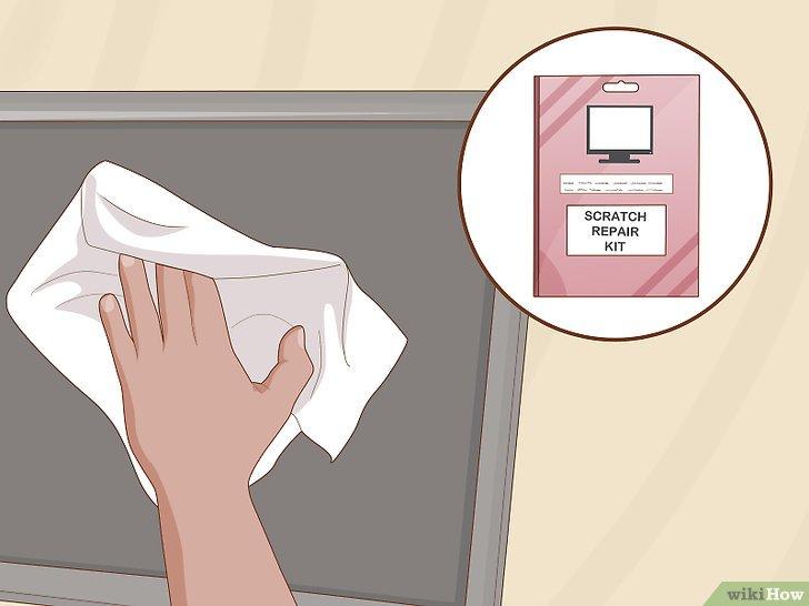 Проведите по экрану мягкой тканью