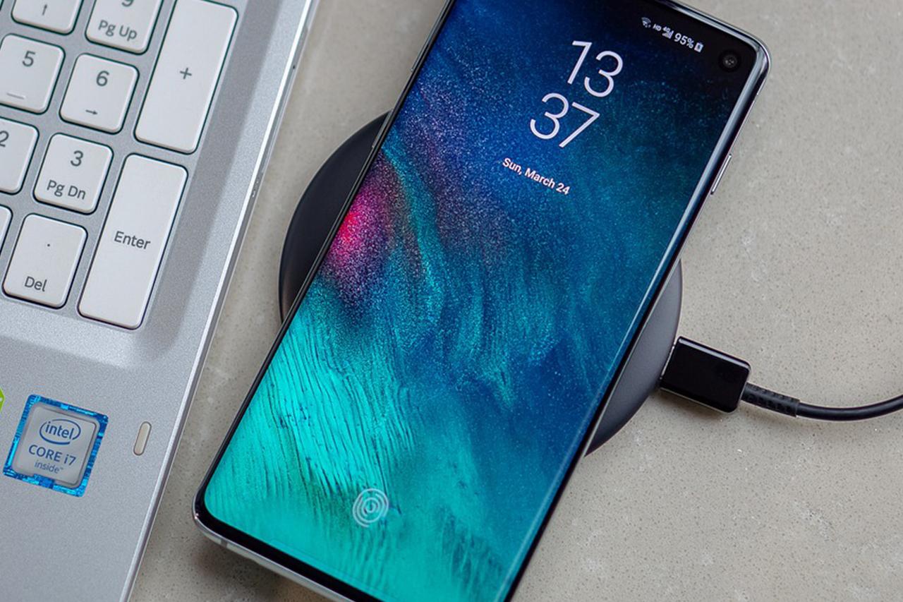Правильная зарядка смартфона Samsung