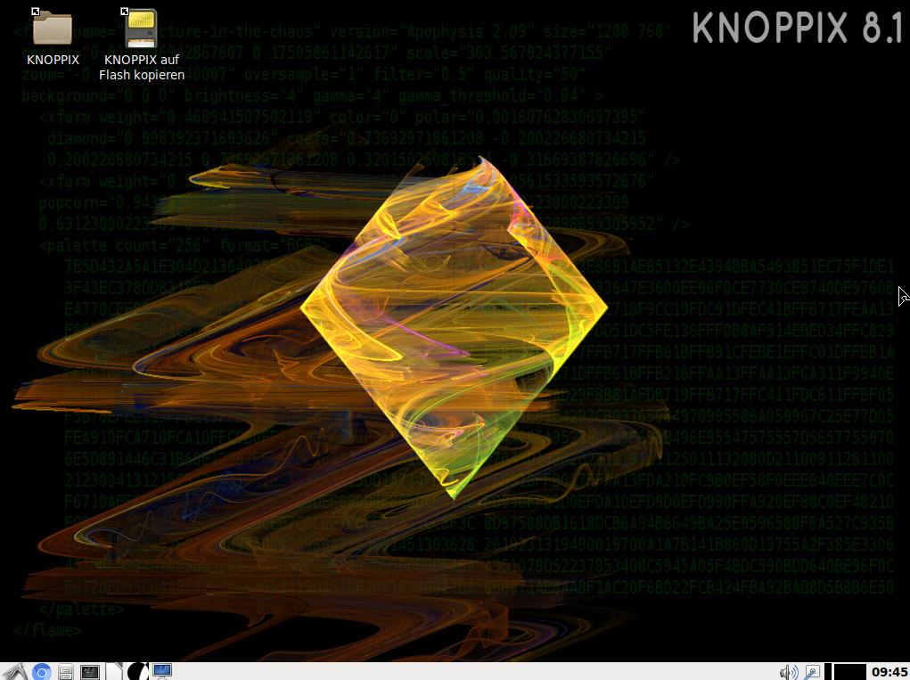Резервное копирование данных с помощью Knoppix