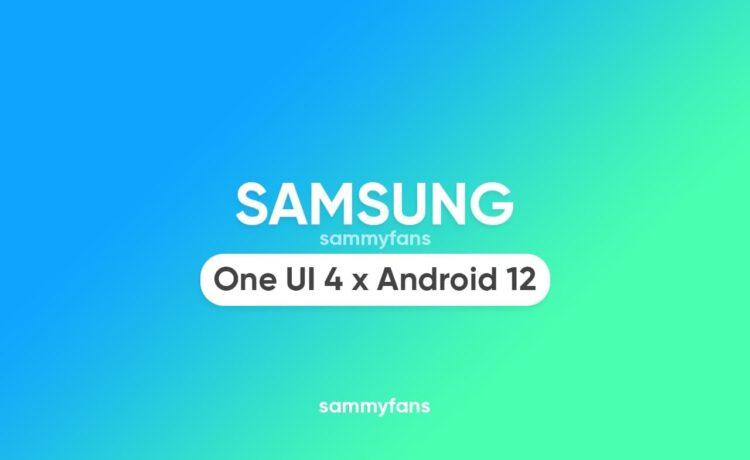 Состояние обновления Samsung Galaxy Android 12 One UI 4.0