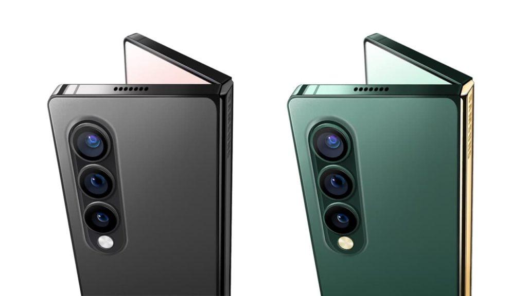 Samsung Galaxy Z Fold 3 с плоскими краями по периметру выглядит потрясающе !.
