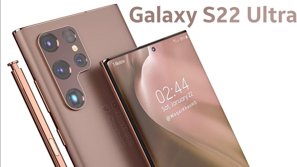 Samsung Galaxy S22, раскрыта новая концепция
